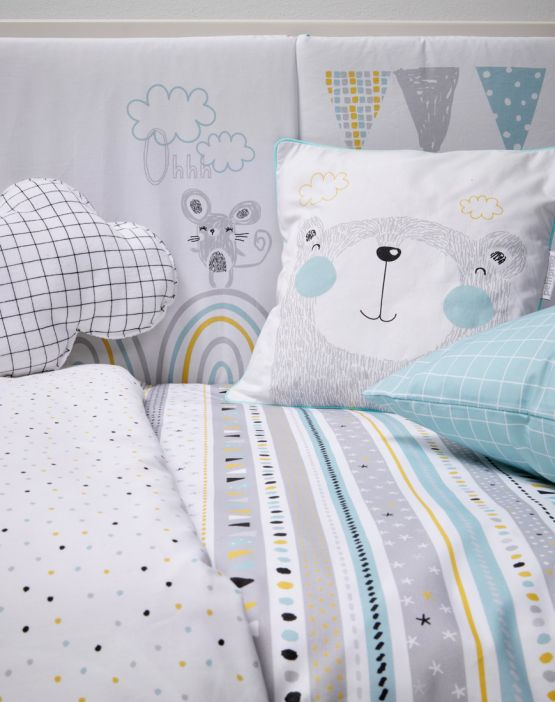 Duvet cover for crib<br> GUIRANLDA (PARTY)