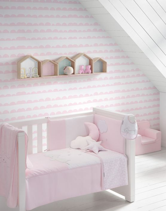 Set of sheets<br>NOTTE - PINK